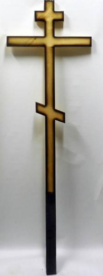 Крест дубовый №001