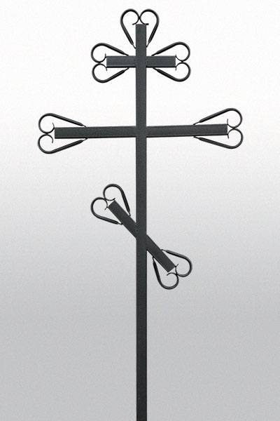 Крест металлический №13