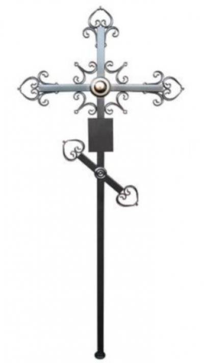 Крест металлический Ажурный