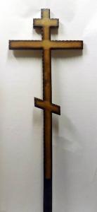 Крест дубовый №002
