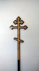 Крест дубовый №003