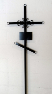 Крест металлический №9