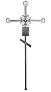 Крест металлический С6